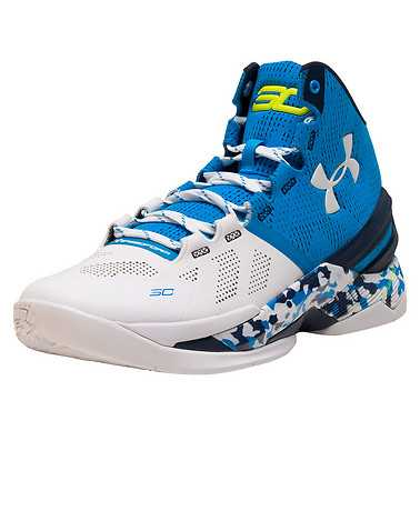 UNDER ARMOUR MENS Blue Footwear / Sneakers