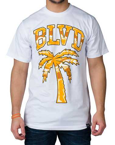 BLVD SUPPLY MENS White Clothing / Tops
