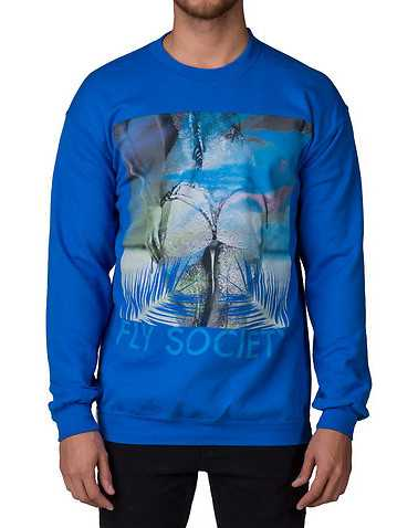 FLY SOCIETYENS Blue Clothing / Sweatshirts
