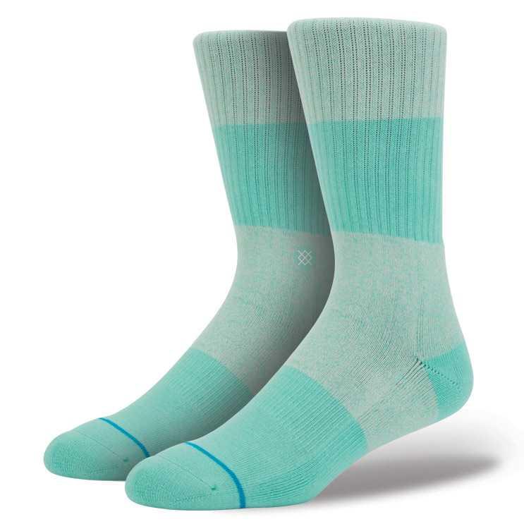 Stance Spectrum Teal S/M CLASSIC CREW Socks
