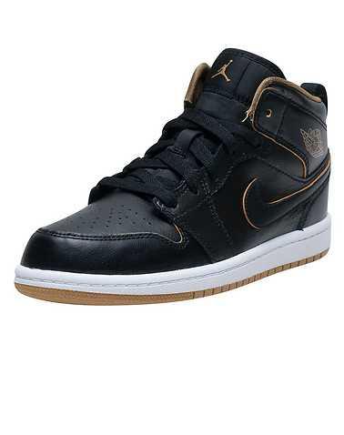 JORDAN GIRLS Black Footwear / Sneakers