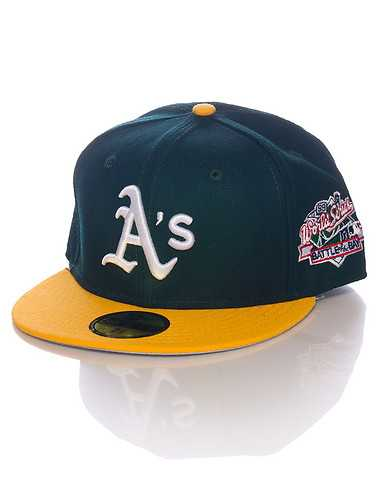 NEW ERA MENS Green Accessories / Caps Fitted